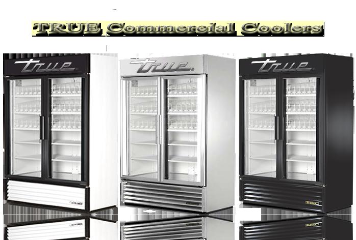 True Glass Door Refrigerator Used Sliding Door Designs
