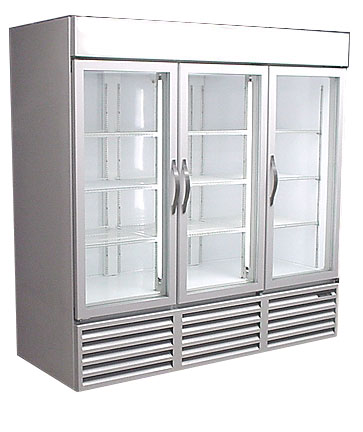 Used Three Door Freezer