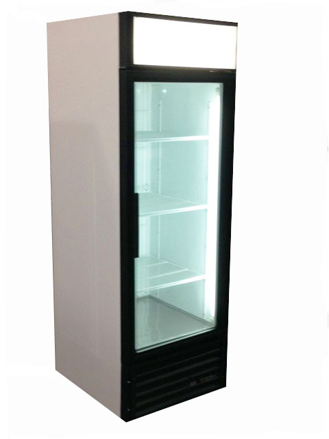 Single Glass Door Freezer