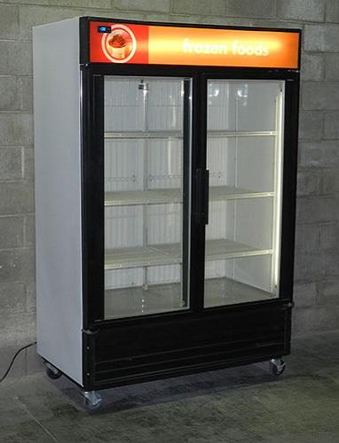 Used Glass Door Display Freezer
