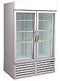 CRG-48 Two Door Cooler - Commercial - Glass Doors - Beverage Air - Refurbished