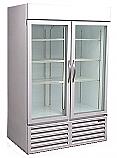 CRG48 - Used Two Door Cooler - Beverage Air - Glass Doors - Commercial - Refurbished